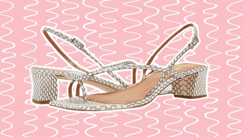 I Think I've Finally Found It: The Perfect Heeled Summer Sandal   StyleCaster