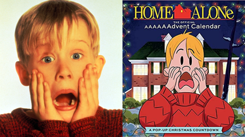 There's a 'Home Alone' Advent Calendar—& It Includes Ornaments Like Harry's Gold Tooth | StyleCaster