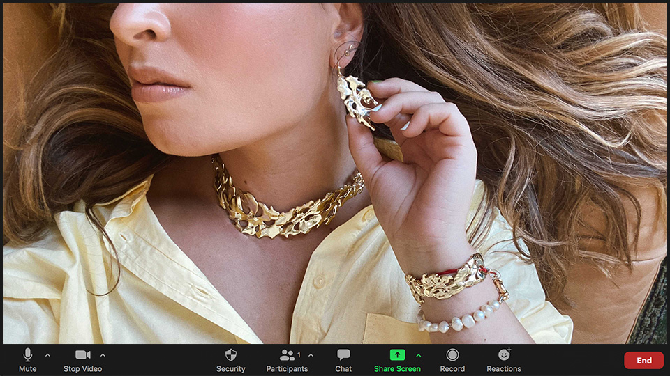 Zoom Is Dead, But I'm Not Giving Up My Statement Jewelry | StyleCaster