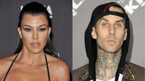 Kourtney & Travis Might've Secretly Gotten Married—& His Daughter Maybe Confirmed It | StyleCaster
