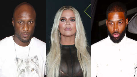 Lamar Just Shaded Tristan For Trying to 'Act Tough' to Win Khloé Back After Their Split | StyleCaster