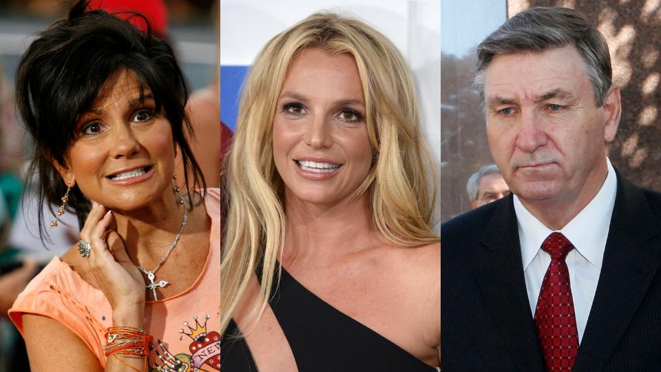 Lynne Spears, Britney Spears, Jamie Spears