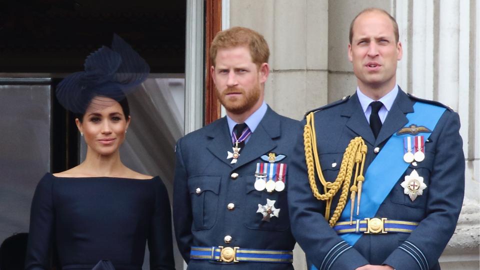 Meghan Markle, Prince Harry, Prince William