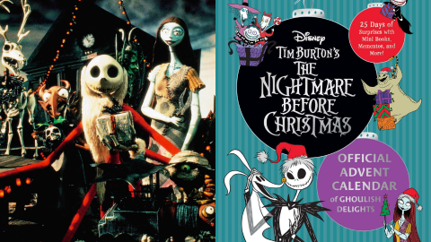 There's a 'Nightmare Before X-Mas' Advent Calendar & It Comes With Jack & Sally Stickers | StyleCaster