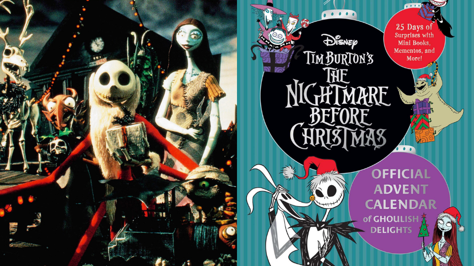 There's a 'Nightmare Before X-Mas' Advent Calendar & It Comes With Jack & Sally Stickers   StyleCaster