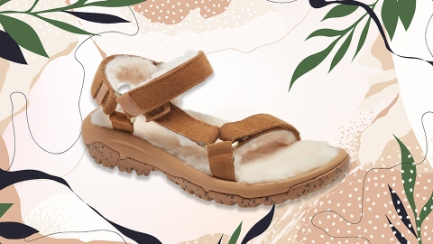 We Found the Shearling Sandal That Everyone Will Be Wearing This Fall & It's on Sale Now | StyleCaster