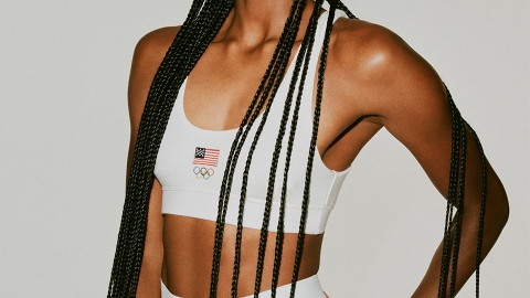 SKIMS' Official Olympics Collection Means You Can Twin With Team USA | StyleCaster