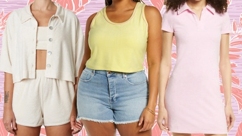 Excuse Me While I Only Wear Terry Cloth All Summer Long | StyleCaster