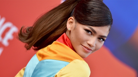 Zendaya Dressed As A Rainbow Cowgirl For The 'Space Jam' Premiere   StyleCaster