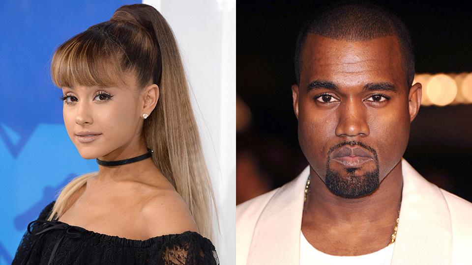 Ariana Grande, Kanye West