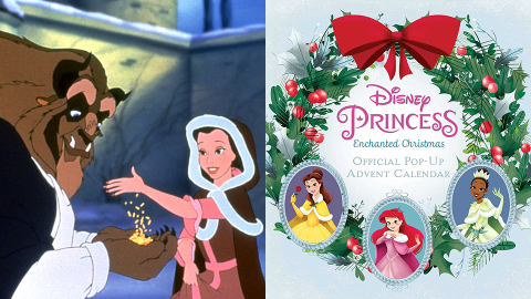 These Disney Advent Calendars Include Ornaments Like Cinderella's Slipper & Rapunzel's Pan   StyleCaster