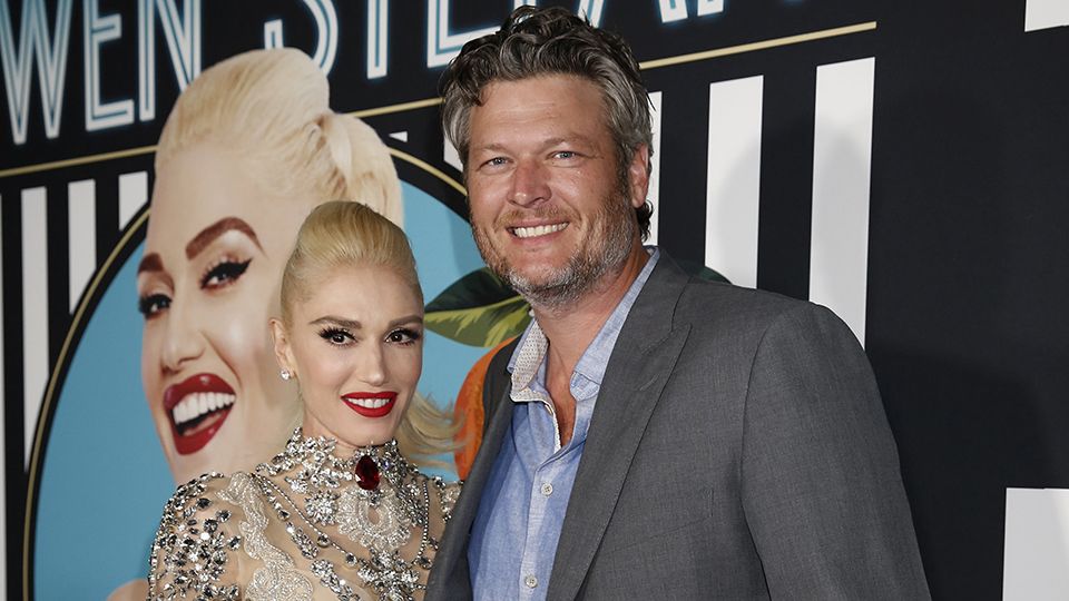 Gwen Stefani Just Edited Herself into a Photo With Blake Shelton From an Event He Attended With His Ex-Wife