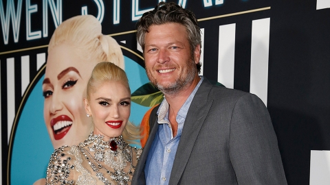 Gwen Stefani Just Posted a Photo With Blake Shelton From an Event He Attended With His Ex | StyleCaster