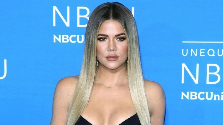 Khloe Kardashian Revealed Her Natural Hair Texture & Fans Are Loving It