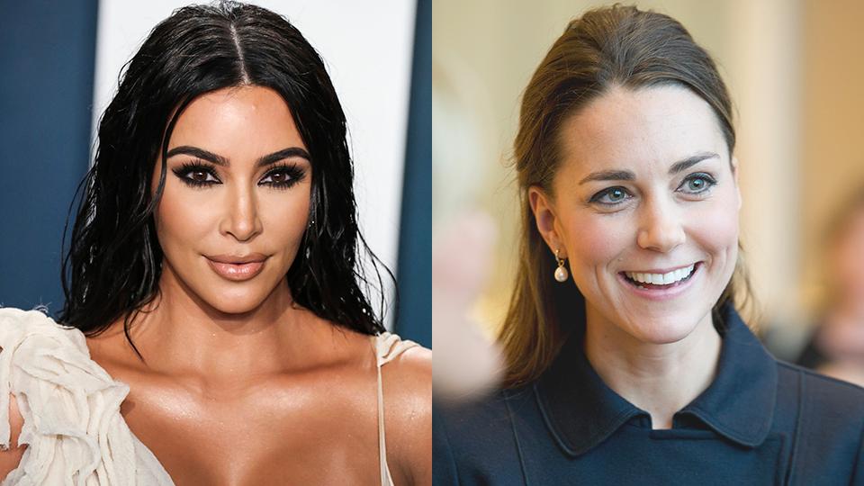 Kim Kardashian, Kate Middleton
