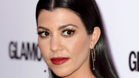 Kourtney Kardashian Chopped Inches Off Her Hair After Teasing It For Weeks | StyleCaster