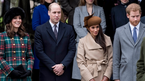 Here's What William & Kate Said to Meghan on Her 40th Birthday Amid Their Feud With Harry | StyleCaster