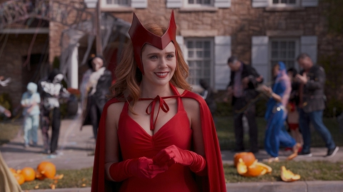 Here's Where to Get Wanda's Scarlet Witch Costume From WandaVision's Halloween Episode | StyleCaster