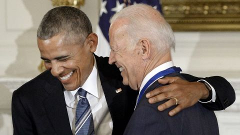 President Joe Biden Gave Barack Obama This 'Heartfelt' Present For His 60th Birthday   StyleCaster