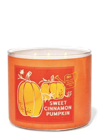 bath & Body Works cinnamon pumpkin