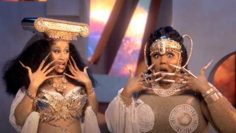 Lizzo Reveals if 'Rumors' About Having Sex With Drake Are True in New Song With Cardi B | StyleCaster