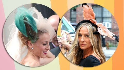 Carrie Bradshaw's Infamous Penchant For Bird Headpieces Lives On | StyleCaster