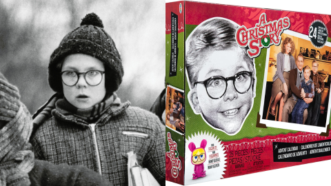 This 'Christmas Story' Advent Calendar Even Comes With Collectibles Like Ralphie's Glasses | StyleCaster