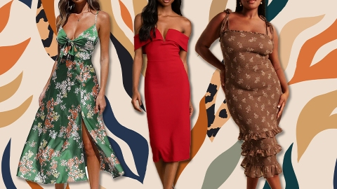 28 (Stylish) Fall Wedding Guest Dresses You'll Actually Wear Again   StyleCaster