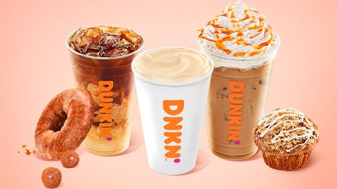 Dunkin's Fall Drink Menu Proves They Understood The Assignment | StyleCaster