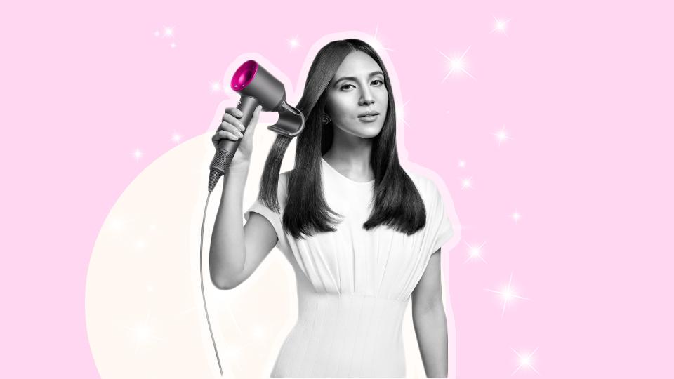 Dyson's New Hair Dryer Attachment Will Smooth Even The Wildest Flyaways
