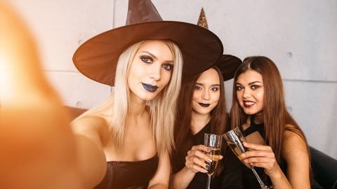 Halloween Instagram Captions That Won't Get You Boo'd | StyleCaster