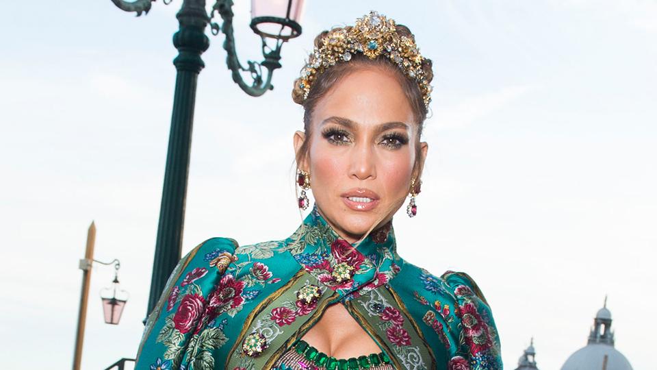 J.Lo's Dolce & Gabbana Look Served Major Royalty Realness