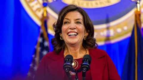 Kathy Hochul Will Be the First-Ever Female Governor of NY—Here's What to Know About Her | StyleCaster