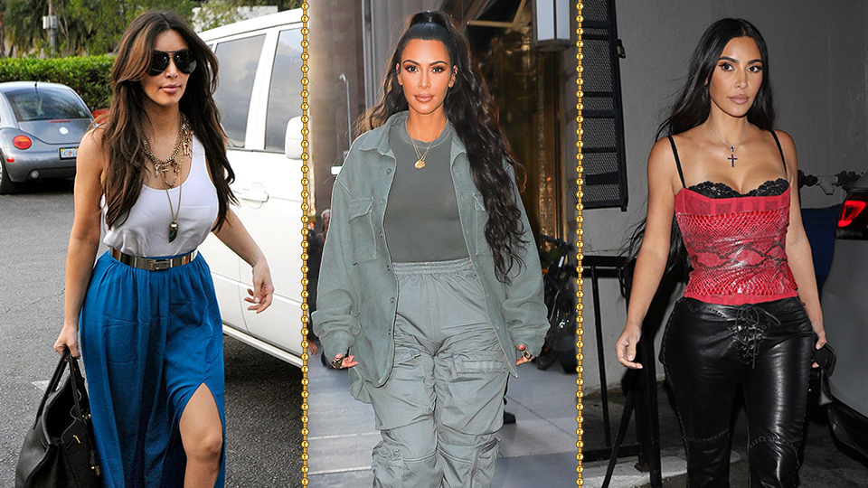 An Analysis Of Kim Kardashian's Style—Before & After Kanye West