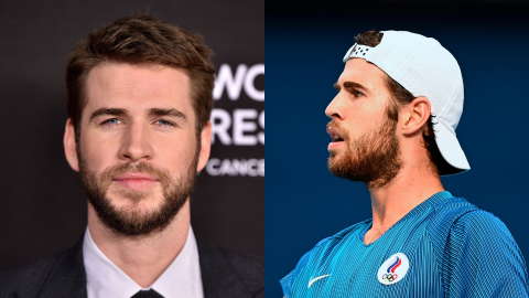 Liam Hemsworth Has a Look-Alike at the Olympics—& He's a Tennis Player From Russia   StyleCaster