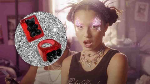 Shop The Exact Gummy Bear Ring From Olivia Rodrigo's New 'Brutal' Video | StyleCaster