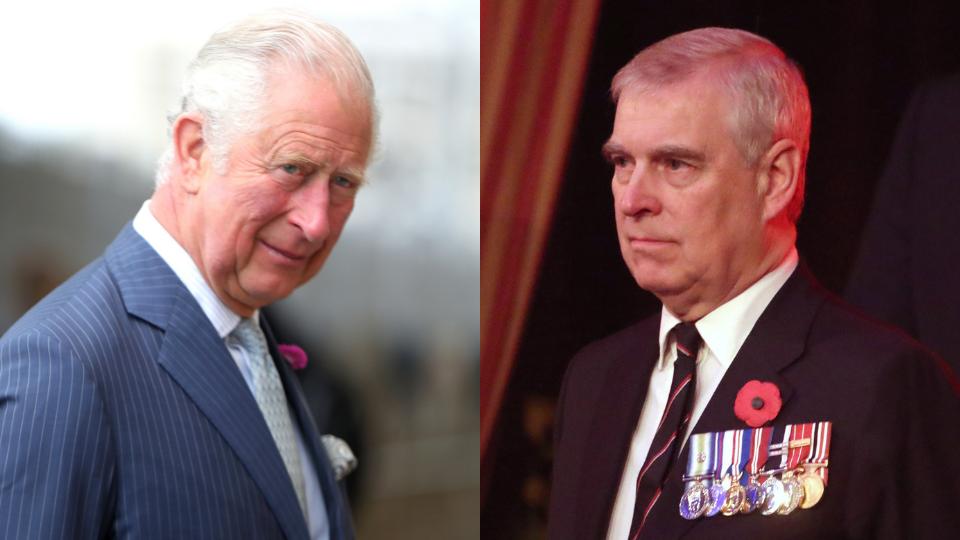 Prince Charles, Prince Andrew