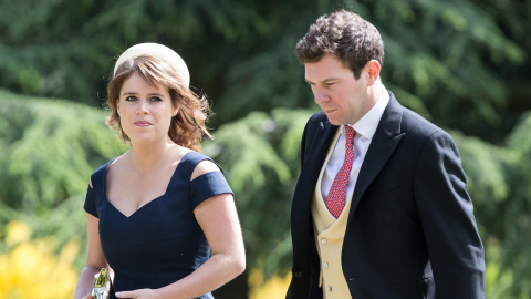 The Topless Model Seen With Princess Eugenie's Husband Apologized For the 'Improper' Pics | StyleCaster
