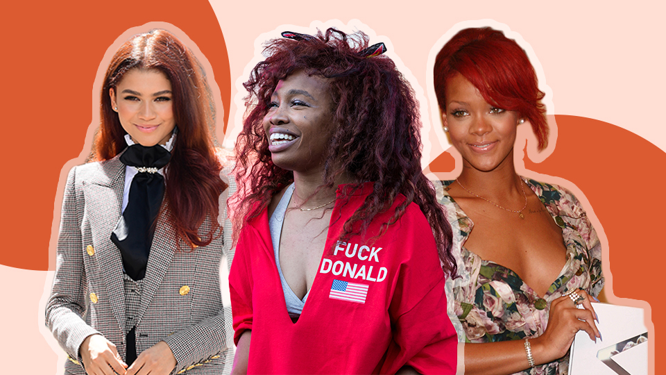 8 Red Wig Units To Bring The Summer Heat Into Fall