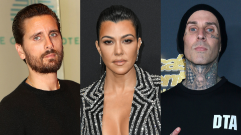 Kourtney's Ex Just Leaked a DM From Scott Shading Her & Travis' Makeout Photos | StyleCaster