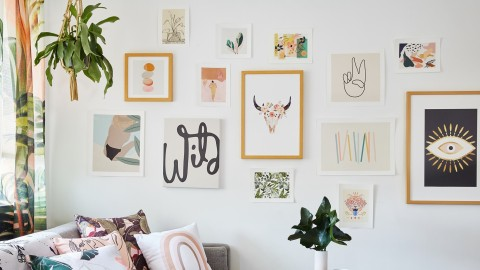 Society6's Epic Wall Art Sale Is Chock Full of Chic Dorm Décor Staples | StyleCaster