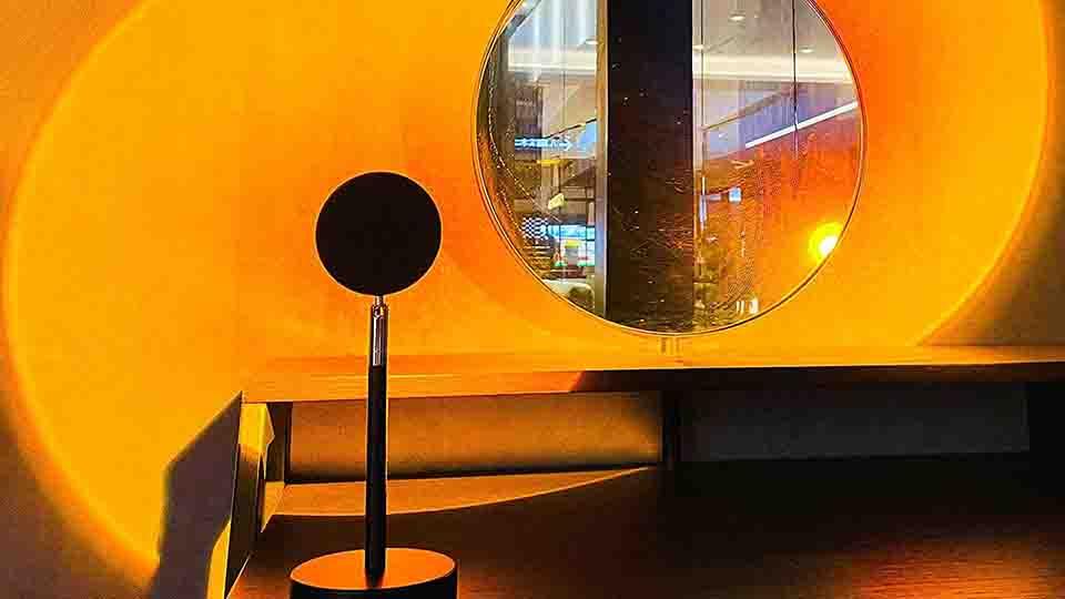 Sunset Lamps Are TikTok's Secret To Easy, Vibey Home Decor