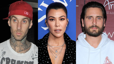 Kourtney Just Seemingly Accused Scott of 'Treating' Her 'Badly' Amid His Feud With Travis | StyleCaster