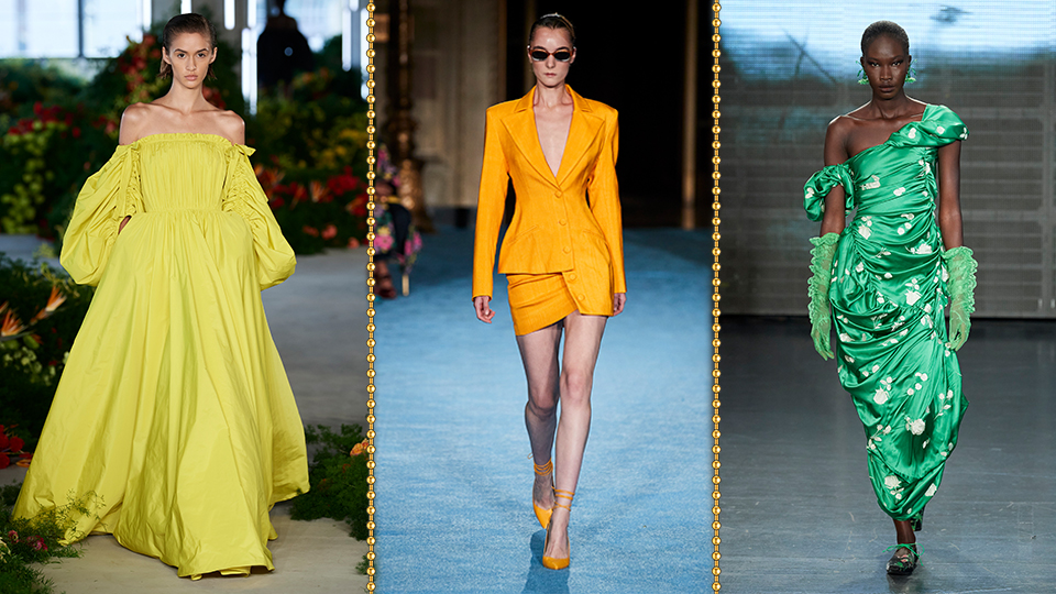 These 2022 Color Trends Make A Case For Throwing Out Your LBD