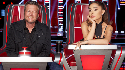 Blake Just Responded to Rumors He's Being Fired From 'The Voice' & Replaced by Ariana | StyleCaster