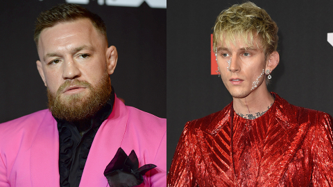 Conor McGregor Just Called MGK a 'Little Vanilla Boy Rapper' After He Tried to Punch Him | StyleCaster
