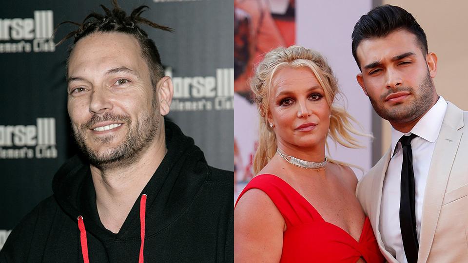 Kevin Federline, Britney Spears, Sam Asghari