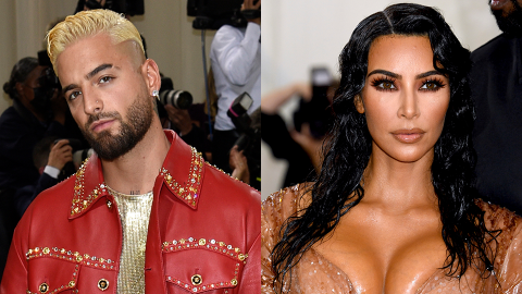 Maluma Just Responded to Rumors He Secretly Dated Kim After Her Divorce From Kanye | StyleCaster