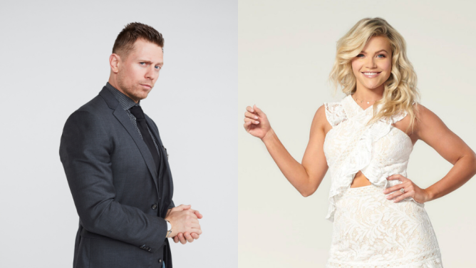 Mike The Miz Mizanin Witney Carson Brian Austin Green & His Girlfriend Are Partners on the New DWTS Season—Here Are Other Pairs