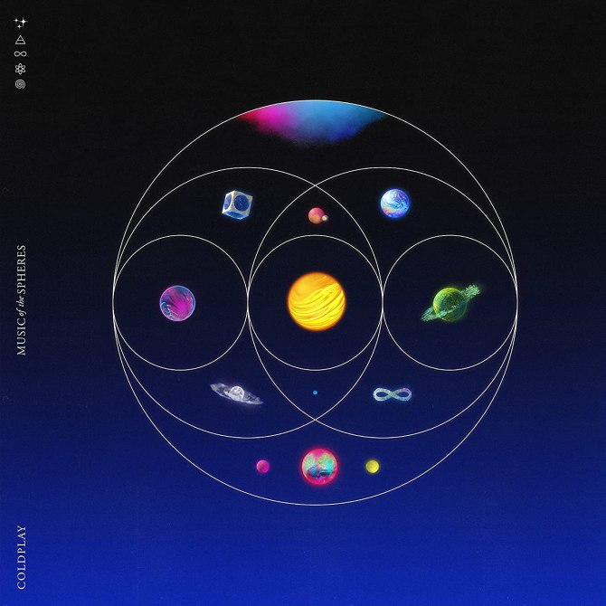 """""""Music of Spheres"""" by Coldplay"""